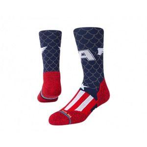 Stance Feel 360 Captain America Marvel Crew Socks Medium